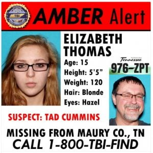 Missing 15 years old girl Amber Alert