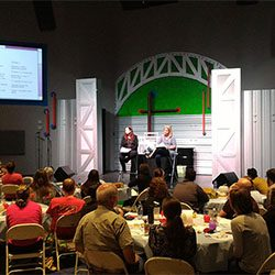 King's Treasure Box teaching foster parents at North Point Church